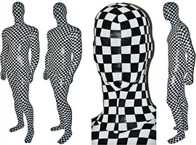 Chess with silver dots.